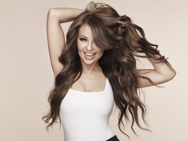 Thalía Debuts Hair-care Brand, Adria by Thalía