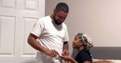 Watch Cheyenne Floyd Tell Zach Davis She's Pregnant With Their 1st Child